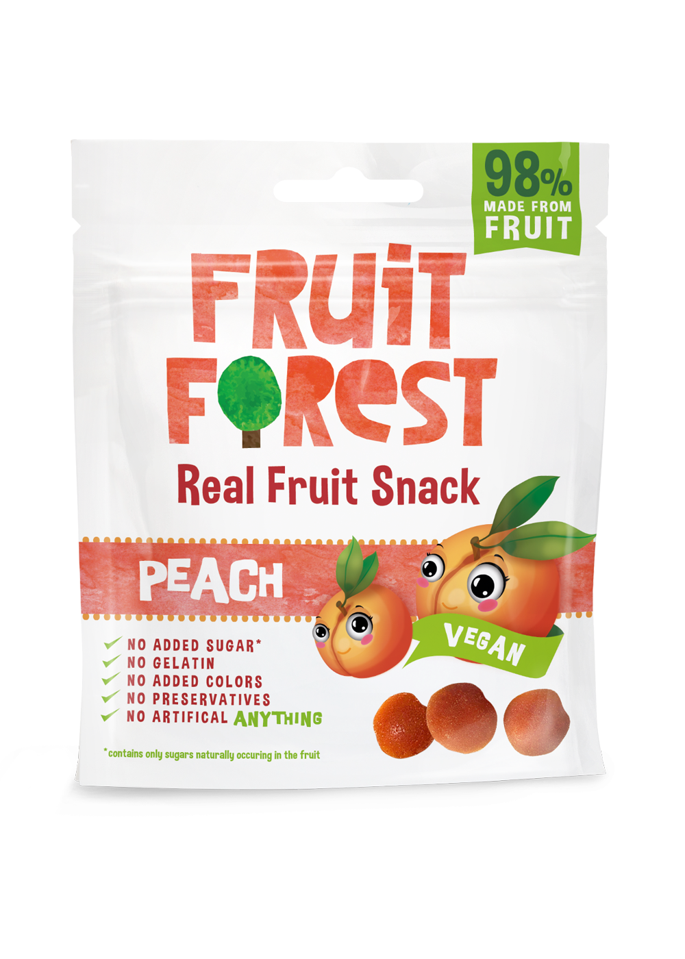 FRUIT FOREST REAL FRUIT GUMMY PEACH