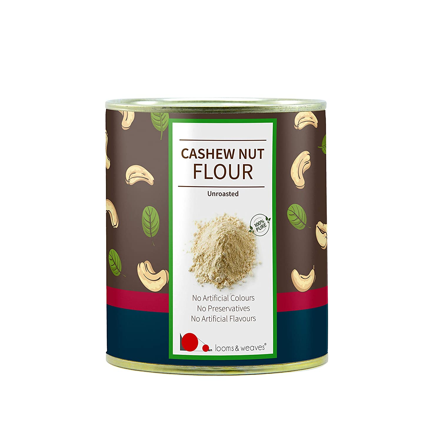 LOOMS & WEAVES - UNROASTED CASHEW NUT FLOUR/POWDER